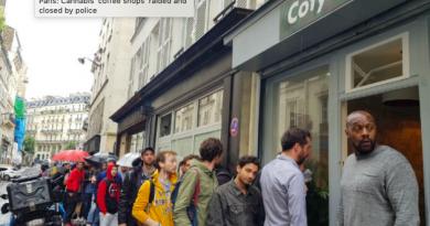 "Paris: Kedai kopi ""Cannabis"" digerebek dan ditutup oleh polisi"